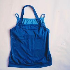 Womens Rebook Halter top with Built in Bra